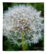 Puff The Dandelion Fleece Blanket
