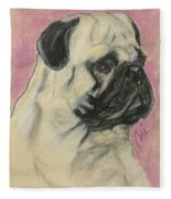 Pugnacious Fleece Blanket