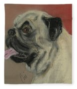 Pugster Fleece Blanket
