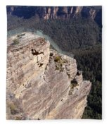 Pulpit Rock - Australia Fleece Blanket