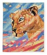 Puma On Watch Fleece Blanket