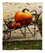 Pumpkin Barrow Fleece Blanket
