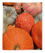 Pumpkin Happy Fleece Blanket