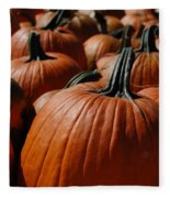 Pumpkin Harvest 1 Fleece Blanket