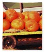 Pumpkin Load Fleece Blanket
