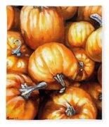 Pumpkin Palooza Fleece Blanket