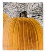 Pumpkin Patch - Photopower 1563 Fleece Blanket