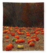 Pumpkin Season Fleece Blanket