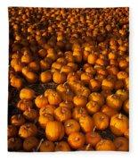 Pumpkins Fleece Blanket