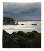 Punakaiki Rocks Fleece Blanket