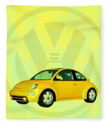 Punch Buggy Fleece Blanket