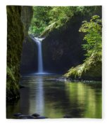 Punchbowl Falls Fleece Blanket
