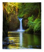 Punchbowl Falls Fleece Blanket