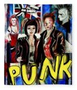 Punk Style Fleece Blanket