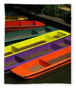 Punts For Hire Fleece Blanket