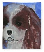Puppy Doll Fleece Blanket