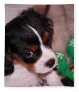 Puppy Look Fleece Blanket