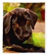 Puppy Love Fleece Blanket