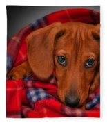 Puppy Love Fleece Blanket