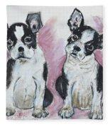 Puppy Puppy Fleece Blanket