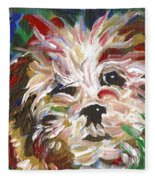 Puppy Spirit 101 Fleece Blanket