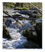 Pure Mountain Stream Fleece Blanket