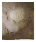 Pure Roses Fleece Blanket