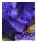 Purple Bliss Fleece Blanket