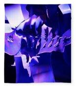 Purple Blue Fish...   # Fleece Blanket