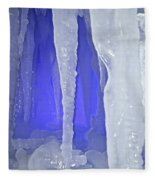 Purple Cave Fleece Blanket