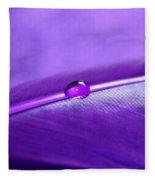 Purple Daydream Fleece Blanket