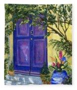 Purple Door Fleece Blanket