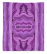 Purple Dreams Pattern Fleece Blanket