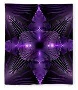 Purple Fingerz Fleece Blanket