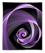 Purple Flirt Fleece Blanket