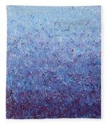 Purple Gradient Fleece Blanket