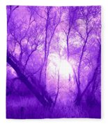 Purple Haze Fleece Blanket