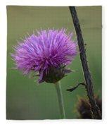 Purple In Nature Fleece Blanket
