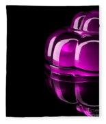 Purple Jelly Fleece Blanket