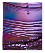 Purple Meterorite Fleece Blanket