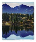 Purple Mountains Majesty Fleece Blanket