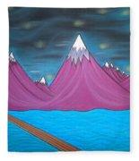 Purple Mountains Fleece Blanket