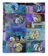 Purple Onions Fleece Blanket