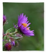 Purple Profiles Fleece Blanket