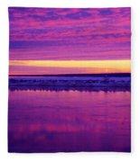 Purple Sky Fleece Blanket