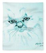 Pussycat Blues Fleece Blanket