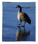 Put Your Best Foot Forward Fleece Blanket