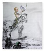 Putin's Surprising Crimea Visit Fleece Blanket