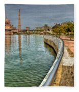 Putra Mosque Fleece Blanket