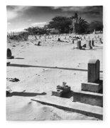 Puupiha Cemetery Lahaina Maui Fleece Blanket